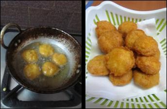 Mini Idli bajjilu / Mini Idli Fritters - Kids recipe - Easy Bajji Recipes