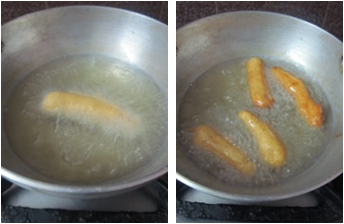 Bread Fingers Recipe / Bread Fritters with Leftover Bread Crusts / Bread Crust Bajjilu