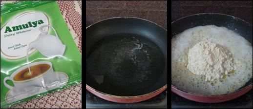 Besan and Milk Powder Burfi/Besan Milk Burfi Recipe-Holi Special Recipe-Burfi recipes