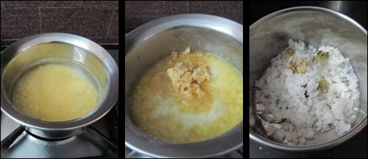 Moong Dal Coconut Kheer/Pesara Pappu Kobbari Payasam-Payasam recipes