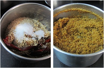 Spicy Poppy Seeds Powder / Gasagasala Podi / Spicy Khus khus Powder - Powder recipes