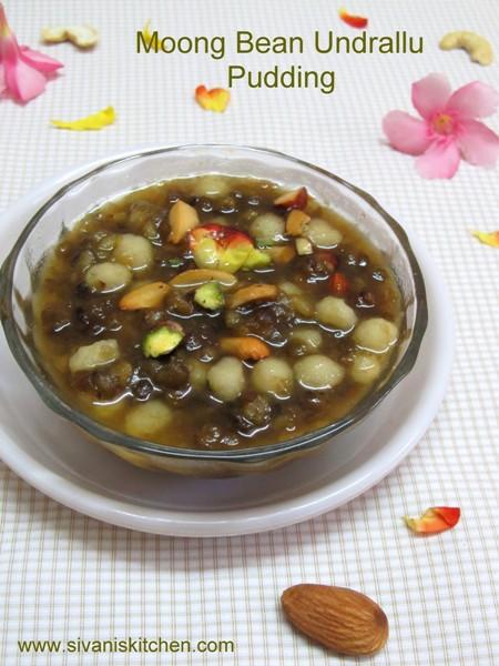 Undralla Kheer In Sabut Moong Dal/Green Gram Mini Kozhukattai Pudding-Vinayaka Chavithi Special Recipe