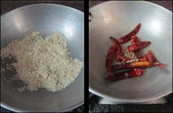 Spicy Sesame Seeds Powder / Nuvvula Karam Podi - how to make Spicy Sesame Powder