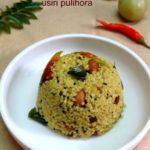 Usirikaya Pulihora with Korra Rice / Amla Rice with Foxtail Millet – Pulihora Recipes – Millet Recipes