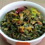 Water Amaranth Leaves and Onion Fry Curry / Ponnaganti Aaku Ullipaya Kura