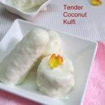 Tender Coconut Kulfi Recipe / Narial Kulfi – how to make Tender Coconut Kulfi