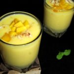 Mango Milkshake Recipe / Fresh Mango Milkshake – how to make Mango Milkshake