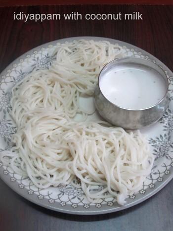 Idiyappam Recipe / Rice Flour Sevai - how to make Idiyappam Recipe