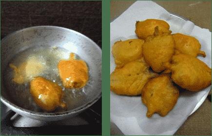 Vamaku Bajji Recipe / Carom Leaves Fritters / Ajwain Leaves Bajji