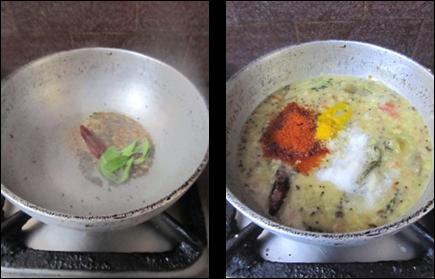 Vankaya Tomato Pappu / Brinjal Tomato Dal Recipe - Dal Recipes