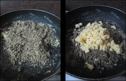 Ragi Nuvvula Laddu / Finger Millet Sesame Laddu / Ragi Till Laddu