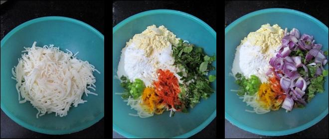 Semiya Pakoda Recipe / Vermicelli Fritters / Seviyan Pakora