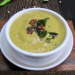 Pachi Mirapakaya Pachadi / Green Chilli Chutney for Tiffins / Pachi Mirchi Pachadi