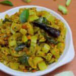 Potlakaya Telagapindi Kura / Snake Gourd Curry with Sesame Powder