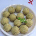Poha Laddu Recipe / Aval Roasted Chana Dal Laddu / Atukulu Putnala Pappu Laddu