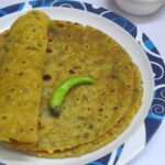 Raw Mango Chapathi / Green Mango Paratha / Mango Flatbread